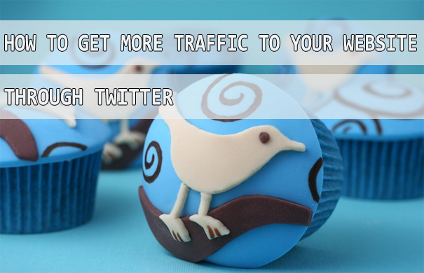 increase website traffic using twitter