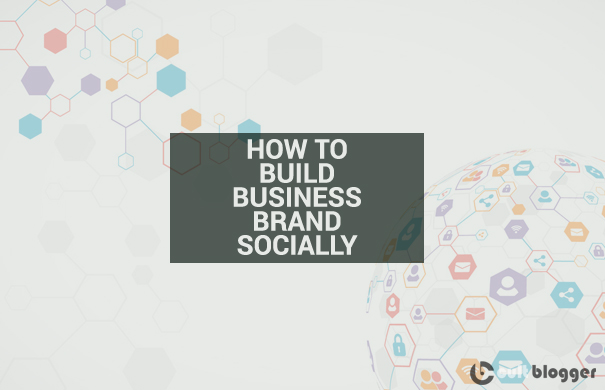 build business brand socially