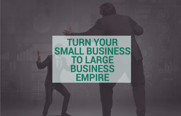 SMALL BUSINESS TO LARGE EMPIRE
